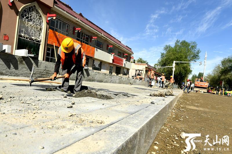 """乌鲁木齐市体育馆路和幸福路""""大修""""即将完工"""