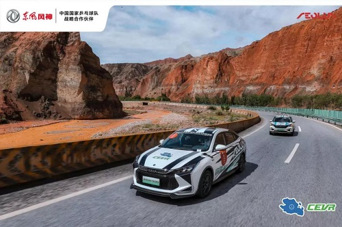 亮剑第七届环青海湖挑战赛 东风公司新能源汽车实力斩获多项大奖