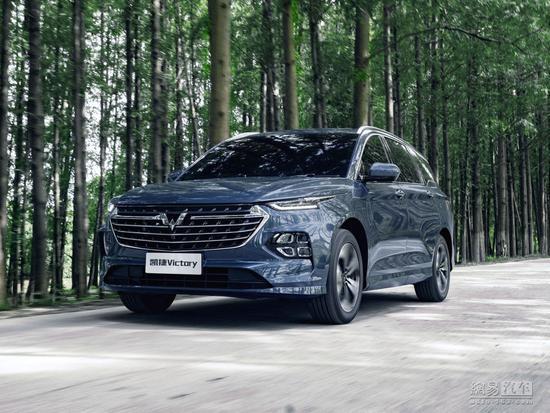五菱银标新SUV明年Q1推出凯捷10