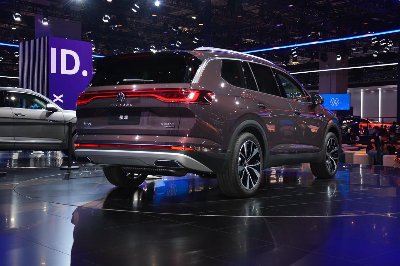 大众最大SUV 一汽-大众揽境公布预售价为29.99-39.99万元