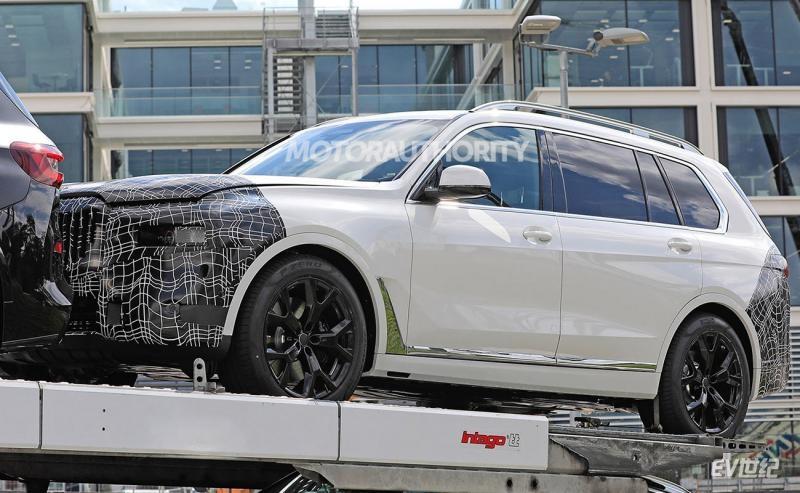 宝马X8测试谍照曝光 新车将在2023年推出