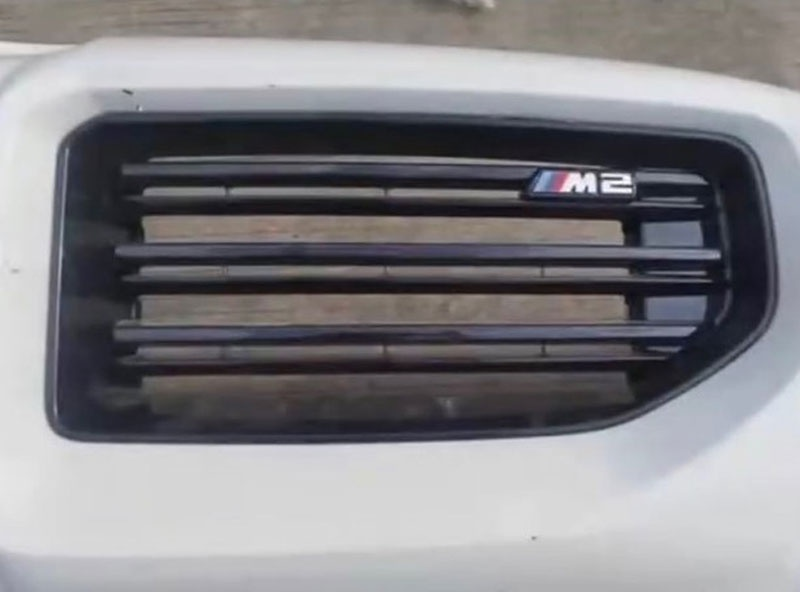 """外观""""首曝"""" 全新BMW M2前保险杠图片泄漏"""